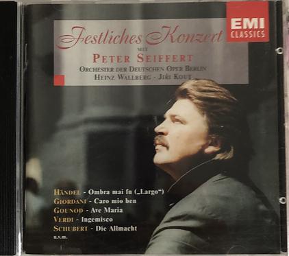 Festliches Konzert mit Peter Seiffert