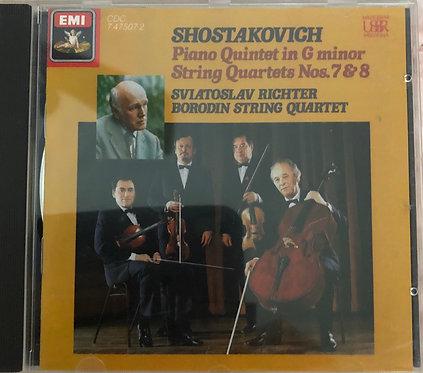 Shostakovich Piano & String Quartets