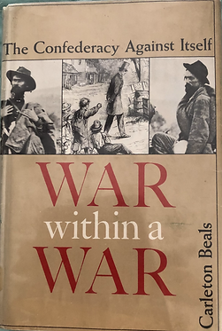 War within a War The Confederacy Against itself