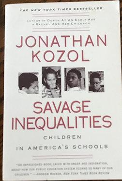 Savage Inequalities Children in America's Schools