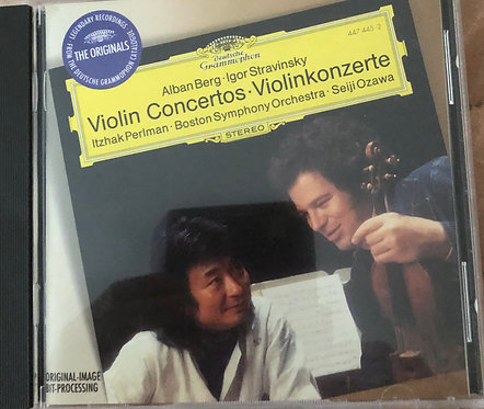 Alban Berg, Igor Stravinsky