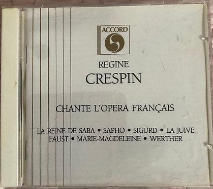Regine Crispin Chante L'opera Francais