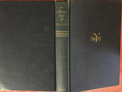 The Collected Plays of WB Yeats