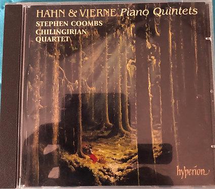 Hahn & Vierne Piano Quintets