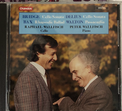 Raphael Wallfisch, cello - Peter Wallfisch, piano