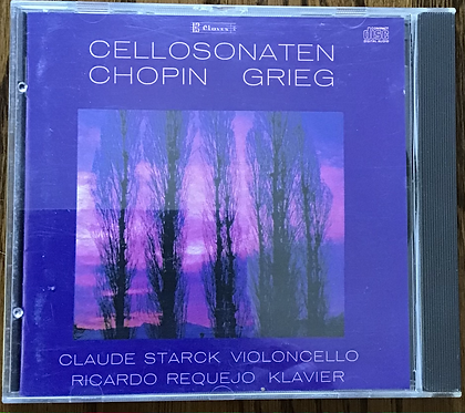 Cellosonaten Chopin Grieg