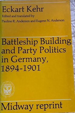 Battleship building and Party Politics in Germany