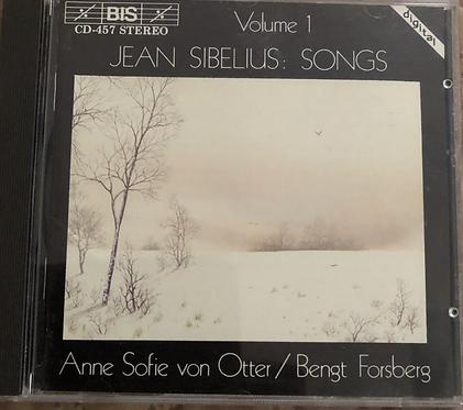 Jean Sibelius Songs Vol 1