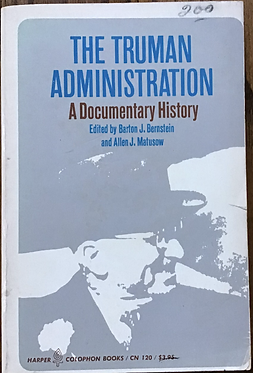The Truman Administration