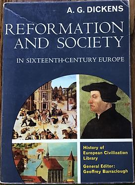 Reformation and Society in the sixteenth Century