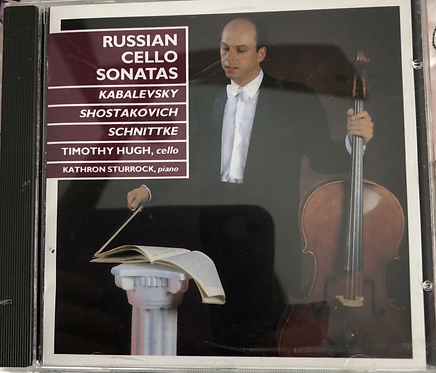 Russian CelloSonatas