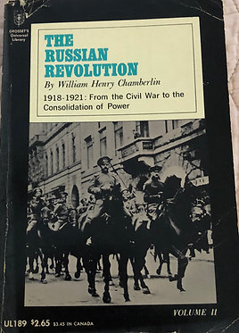 The Russian Revolution Volume II