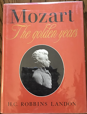 Mozart the Golden Years