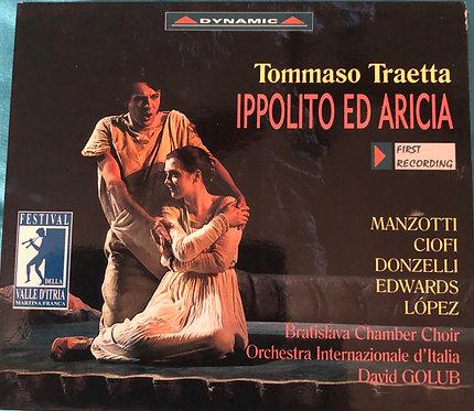 ThomasTraetta - Ippolito ed Aricia