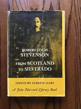Robert Louis Stevenson from Scotland Silverado