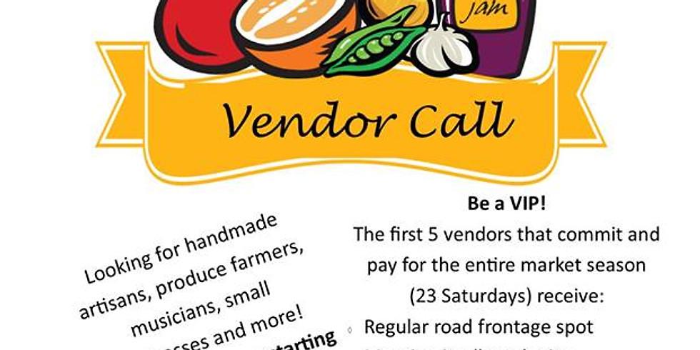 Vendor Call for Dreamation Creations Farmer's and Artisan Fair (1)