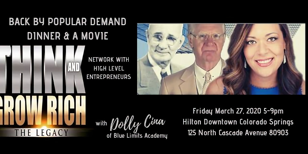 """""""Think and Grow Rich"""" The Movie with Dolly Cina of Blue Limits Academy"""