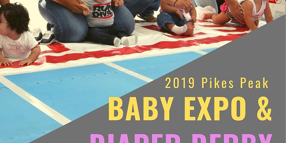 Diaper Derby at the Baby Expo!