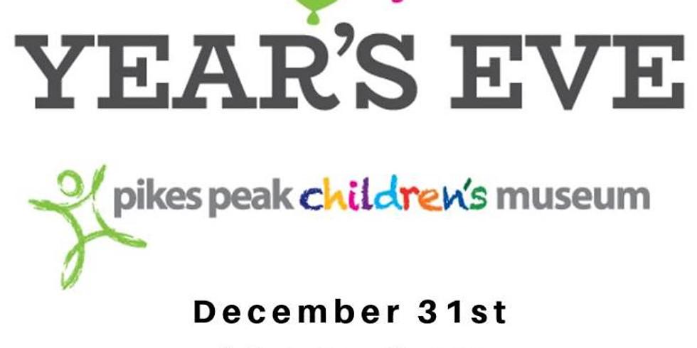 Pikes Peak Children's Museum Noon Year's Eve