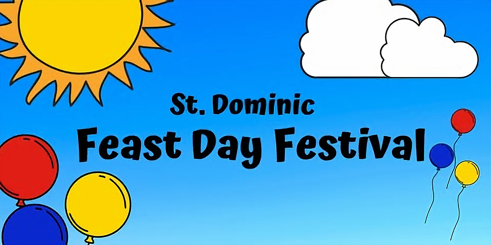 St. Dominic Feast Day Festival