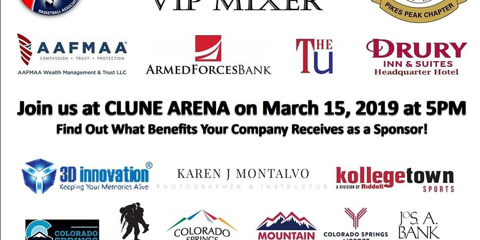 Military Basketball Association VIP Mixer