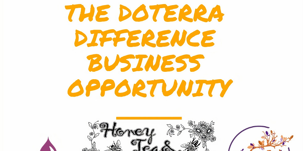 Oils Journey Team Presents The doTERRA Difference Business Opportunity