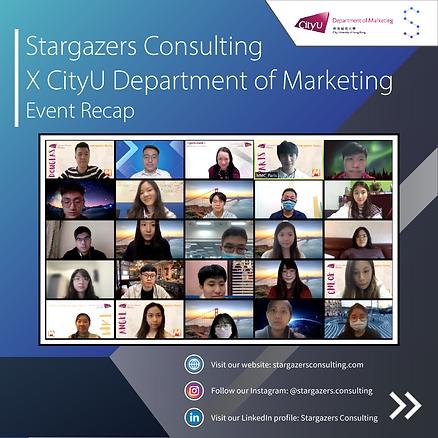 Stargazers X CityU Department of Marketi