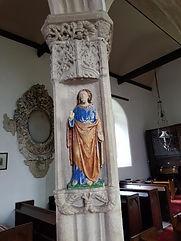 A Figurine in a niche