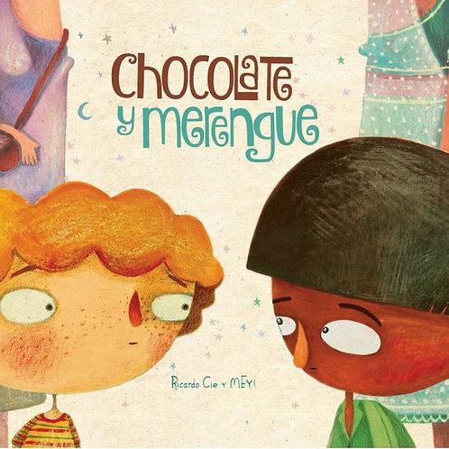 Chocolate y merengue.