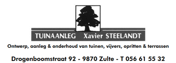 Tuinaanleg Xavier Steelandt