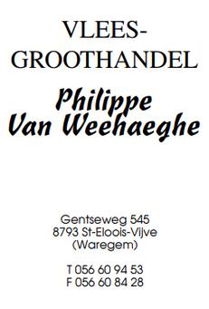 Vlees-groothandel Philippe Van Weehaeghe