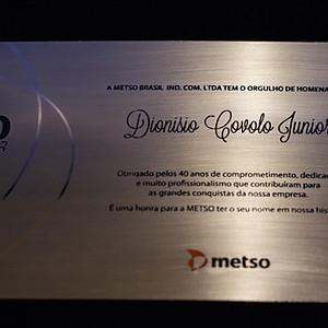 Metso - Homenagem ao Dionisio