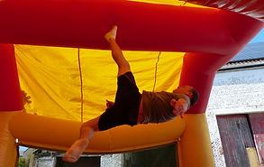 Acro-tramp, Acrotramp fête du club - cours de trampoline louvain-la-neuve Blocry