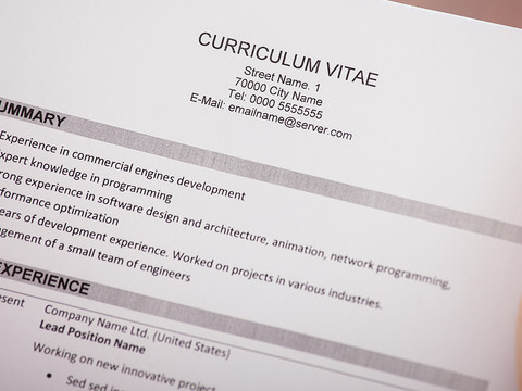 Devo escrever um Resumo Profissional no meu currículo? #Carreira na Europa