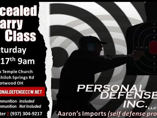 Personal Defense CCW Training