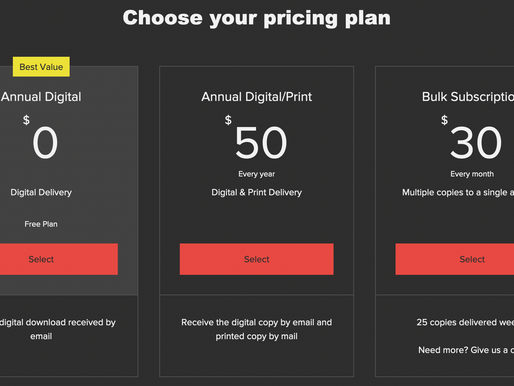 New Subscription Plans Announced