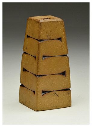 Small Textured Ceramic Bud Vase