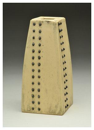 Ceramic Vase with Steel Nails