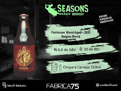 banner BASE Seasons Funhouse Red Wood ag