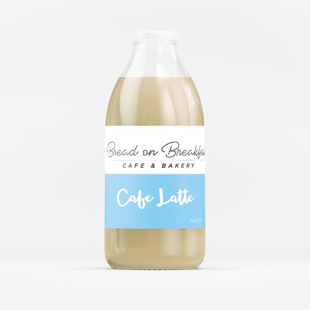 Glass Bottle Sticker Label
