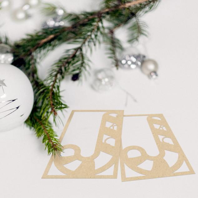 Custom Laser Cut Gift Tag