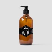 Pump Bottle Sticker Label