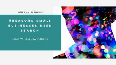 5 Reasons Small Businesses NEED Search