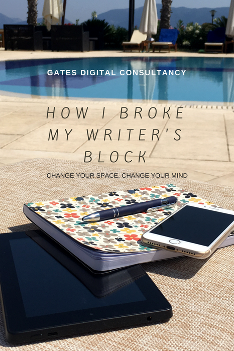 How I Broke My Writer's Block