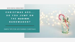 Christmas Ads... do you jump on the sleigh/bandwagon?