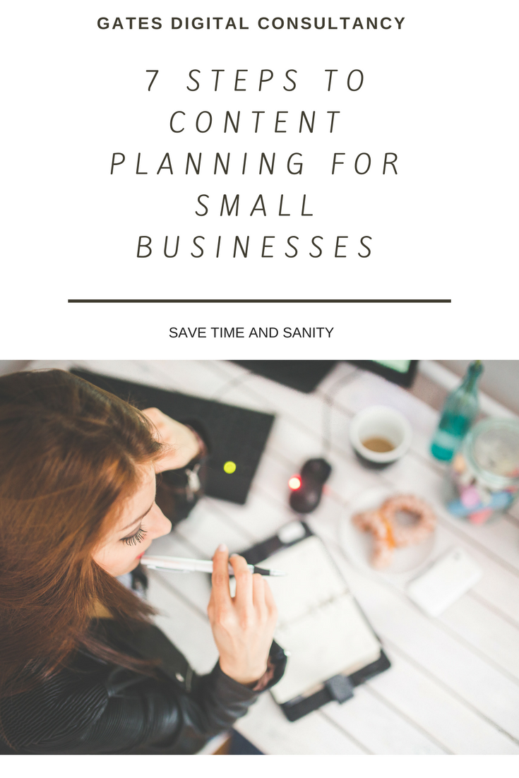 Businesswoman planning over coffee