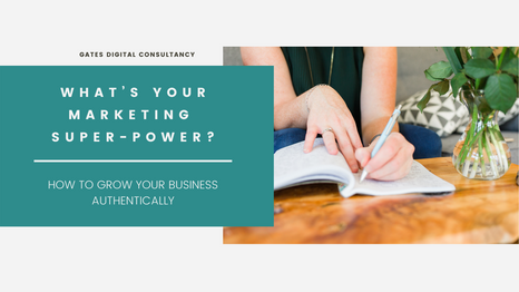 WHAT'S YOUR MARKETING SUPER-POWER?