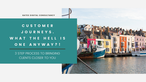 Customer Journeys. What the hell is one anyway?!