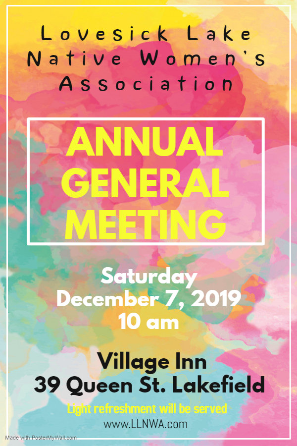 AGM LLNWA 2019 - Made with PosterMyWall