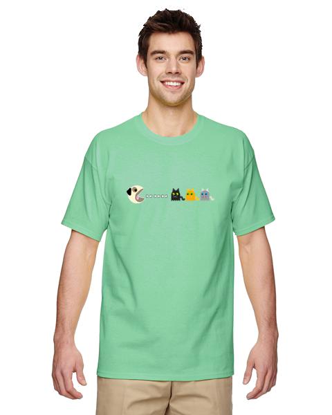 Unisex Gildan T-shirt- Pugman